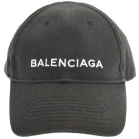 BALENCIAGA(バレンシアガ)17AW クラシックロゴ刺繍 ベースボールキャップ