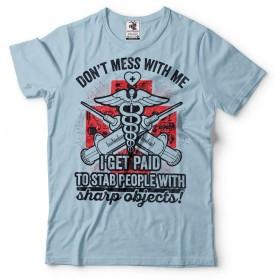 Silk Road Tees メンズ ナース医者救急医療従事者おかしいTシャツ XL サイズ ミリタリーグリーン