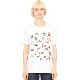 グラニフ(graniph) 【ユニセックス】コラボレーションTシャツ/だるまちゃんすごろく(かこさとし)【001ホワイト/M】