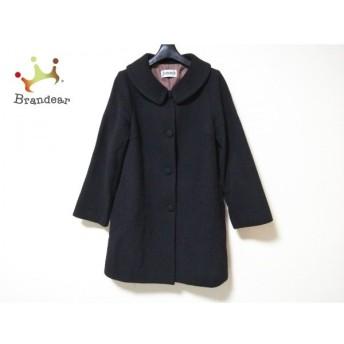 ホコモモラ JOCOMOMOLA コート サイズ40 XL レディース 黒 冬物 新着 20190726