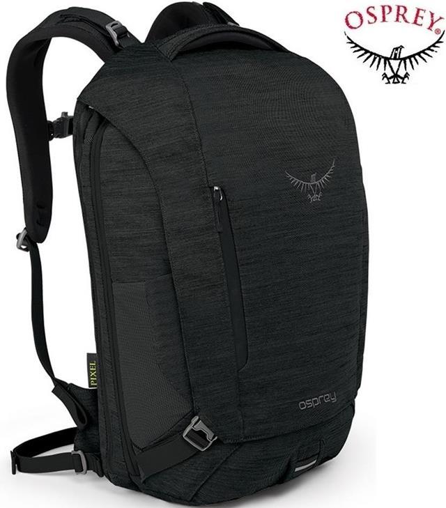 Osprey Pixel 26 城市電腦包/筆電包/可擴充後背包 黑