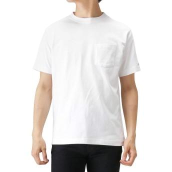 Champion(チャンピオン) プリントTシャツ 半袖Tシャツ クルーネック C3-M349 メンズ ホワイト:M