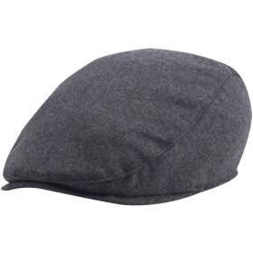 ハンチング メンズ 大きい 秋 冬 ベレー帽 キャップ グレー 防寒 紳士用 無地 人気 父 敬老の日 プレゼント