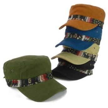 カラーコットンネイティブレークキャップ ヤング帽子