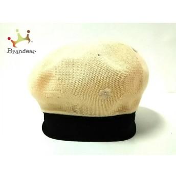アンテプリマ ANTEPRIMA 帽子 美品 ベージュ フラワー/ベレー帽 化学繊維×コットン 新着 20190726