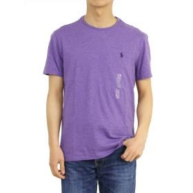 (ポロ ラルフローレン) POLO Ralph Lauren メンズ 無地 クルーネック Tシャツ ワンポイント 0107218-M-PURPLE [並行輸入品]
