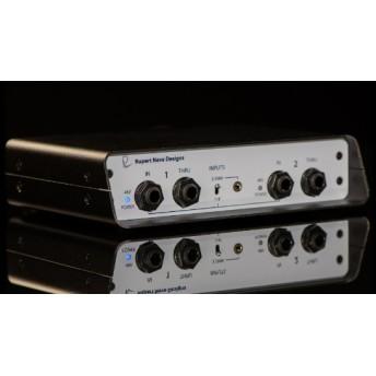 RNDI-S ダイレクトボックス DI 2チャンネル カスタムトランス / 3.5mm入力端子搭載