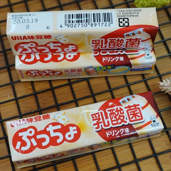 味覺噗啾乳酸菌條糖 50g【4902750891722】(日本糖果)