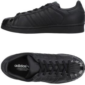 《セール開催中》ADIDAS ORIGINALS レディース スニーカー&テニスシューズ(ローカット) ブラック 5.5 革
