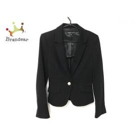 インディビ INDIVI スカートスーツ サイズ38 M レディース 美品 黒  値下げ 20191012