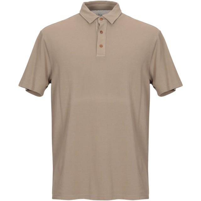《期間限定セール開催中!》ALTEA メンズ ポロシャツ カーキ S コットン 100%