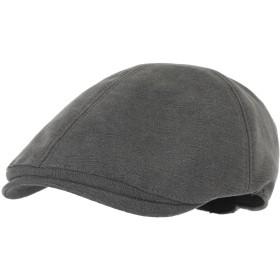 WITHMOONSキャスケットハンチング帽シンプル ニューズボイハット フラットキャップSL3026(Gray)