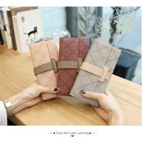 毎日使うのが楽しい 小さい新鮮な 長財布 レディース 機能的 お財布 可愛い 花 長財布 大容量 使いやすい財布 ボックス型小銭入れ 韓国ファッション 三つ折り財布