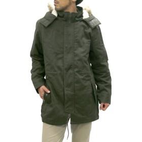 [クレバーガーメンツ] 大きいサイズ メンズ モッズコート オリーブ 4L