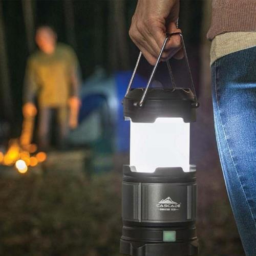 Cascade 伸縮式LED露營燈 3入