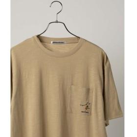 [マルイ]【セール】ワンポイント刺繍ポケットTシャツ/ウィゴー(メンズ)(WEGO)