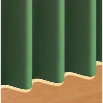 モスグリーン マイン 2枚 幅100×178cm 防炎・1級遮光カーテン mine 20色×54サイズから選べる