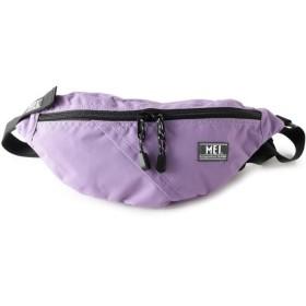 ピンクアドベ MEI メッシュポケット付きボディバッグ レディース ライトパープル(081) 00 【pink adobe】