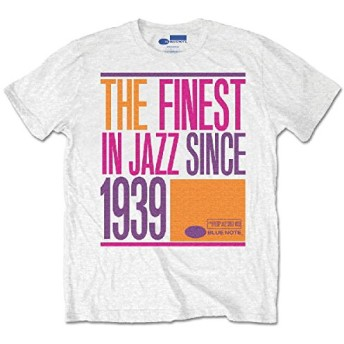 Blue Note ブルー ノート Tシャツ 白 1939 正規品 レコード 会社 レーベル (S)