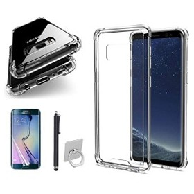 Galaxy S8+ ケース 透明 シリコン 耐衝撃 Galaxy S8 Plus 透明 保護 カバー SC-03J カバー ケース クリア ソフト 衝撃吸収 SCV35...