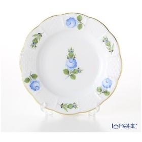 ヘレンド(Herend) プティットローズ ブルー PRB 00512-0-00 プレート 12.5cm 皿