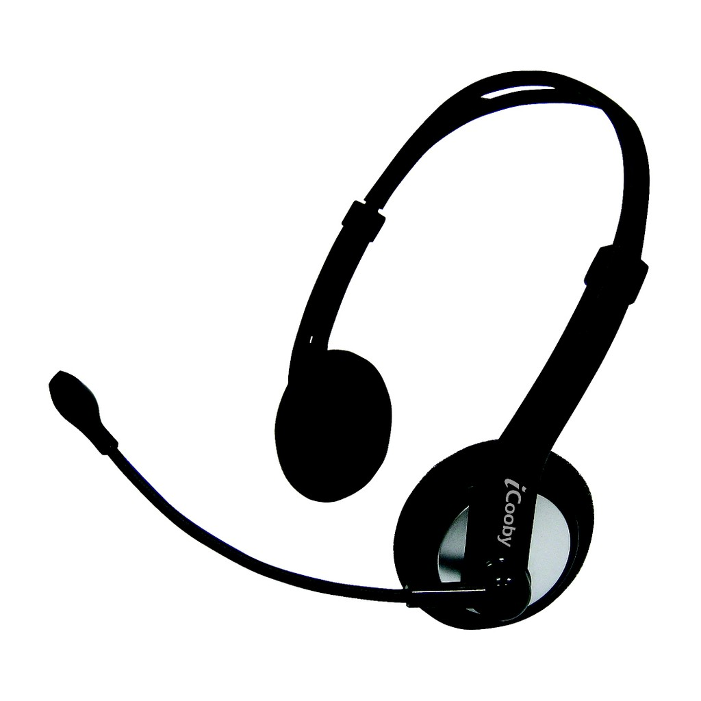 iCooby M60 後掛式耳機麥克風 3.5mm 黑灰色