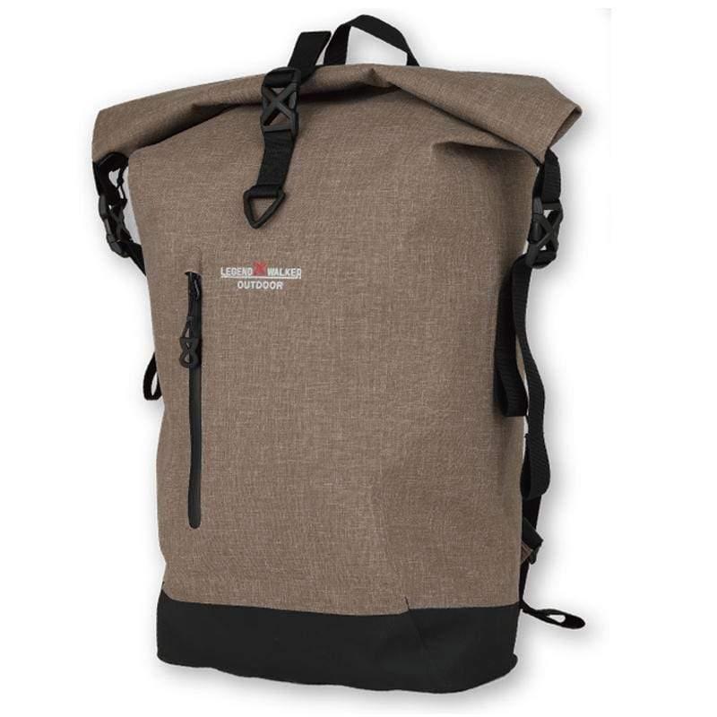 防潑水後背包 - 棕色 9500-50-BE