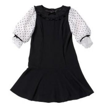 ロディスポット(LODISPOTTO)/Only Dollドットワンピース / mille fille closet