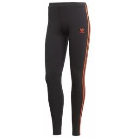アディダス adidas Originals レディース スパッツ・レギンス インナー・下着 Cut-Out 3-Stripe Leggings Black