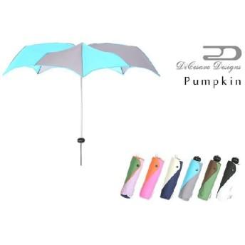 折りたたみ傘 SUPER MINI PUMPKIN 雨傘 折り畳み傘 折りたたみ 折り畳み