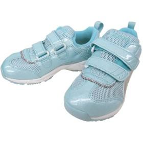 [アシックス] SUKUSUKU すくすく TIARA MINI FR 1144A019 キッズ ジョギング マラソン ランニングシューズ 通学 学校 (18.5cm, スカイ×シルバー(400))