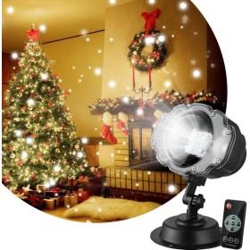 プロジェクターライト 投影ランプ LEDイルミネーションライト ステージライト クリスマス飾りライト RGB多色変化 LED投光器 舞台照明 エフェクトライト スポット