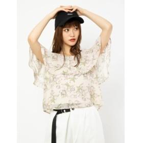 【セシルマクビー/CECIL McBEE】 オフショル花柄トップス