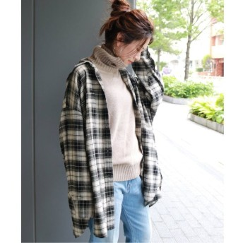 【ジャーナルスタンダード/JOURNAL STANDARD】 ビエラチェックビッグシャツ◆