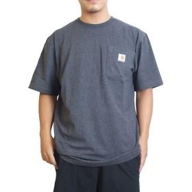(カーハート) Carhartt Tシャツ ポケットTシャツ WORKWEAR POCKET TEE [K87] L CHARCOAL [並行輸入品]
