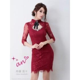 an ドレス AOC-2829 ワンピース ミニドレス Andy アン ドレス キャバクラ キャバ ドレス キャバドレス