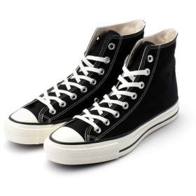 ショット CONVERSE/CANVAS ALL STAR J HI/キャンバスオールスター ハイ 日本製 32068430215/コンバース メンズ BLACK 90 【Schott】