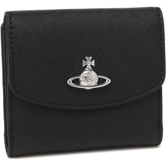 [ヴィヴィアンウエストウッド][ヴィヴィアンウエストウッド] 財布 51150003 40565 N403 ブラック Victoria Small Wallet [並行輸入品]