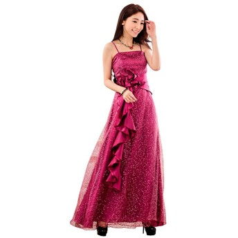 [sweet bell] ロングドレス ドレス ロング パーティードレス 演奏会 結婚式 キャバ フォーマル パープル 紫 大きいサイズ 3Lサイズ XXLサイズ 15号