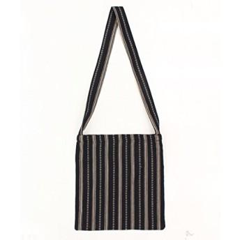 ANAP(アナップ) 鞄 ショルダーバッグ 鞄 ショルダーバッグ ネイティブ柄ショルダーバッグ ブラック F レディースレディース