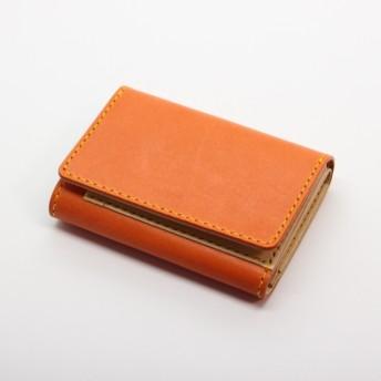 ロロマレザー 三つ折り財布