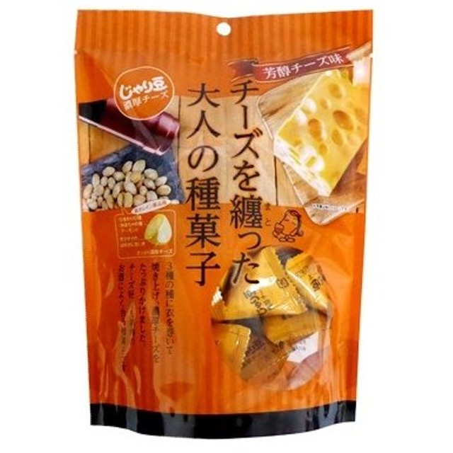 トーノー じゃり豆 濃厚チーズ 80g×1袋 チーズを纏った大人の種菓子 芳醇チーズ味