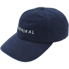 アドミラル Admiral 帽子 GDO別注 バイオウォッシュキャップ ネイビー フリー