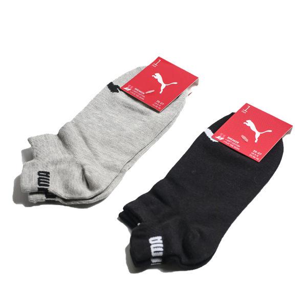 Puma Fashion 黑 灰 造型滾邊 裸襪 (布魯克林) BB121301黑 BB121302灰