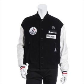 モンクレールジーニアス コーデュロイ ジャケット サイズ1 メンズ ブラック 18AW SVEN ボンバージャケット