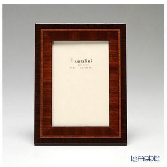 ナタリーニ 象嵌フォトフレーム 10×15cm STEMMA ブラウン 写真立て