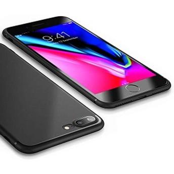 送料無料 iPhone 8 Plus ケース iPhone 7 Plus ケース 薄型 軽量 ソフトTPU 指紋防止 耐衝撃 全面保護 ワイヤレス充電対応 おしゃれ