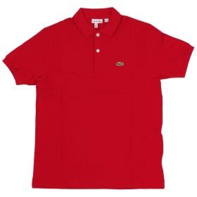 ラコステ LACOSTE L1812/PJ2909 ボーイズ 半袖ポロシャツ 世界流通モデル レッド 12