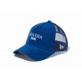 【ニューエラ公式】 9FORTY A-Frame トラッカー パイル ニューエラ 1920 ネイビー メンズ レディース 56.8 - 60.6cm キャップ 帽子 12119340 NEW ERA メッシュキャップ