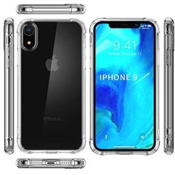 iPhoneXRケース アイフォン9ケース6.1 Apple iPhoneXRケース[ 耐衝撃 TPU ケース ] [ 全面 クリア ] [ 米軍MIL規格取得 ] [ Qi ...